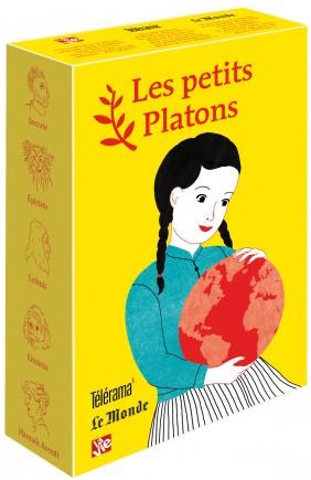 Livre philosophie pour les enfants – Coffret jaune 5 petits Platons