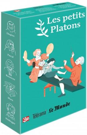 Livre philosophie pour les enfants – Coffret vert 5 petits Platons